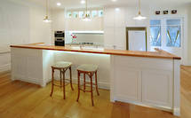 Devonport Kitchen: White Shaker Style