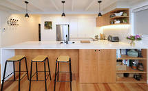 Kitchen renovation references bungalow era