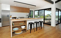 Timber Tones Add Richness to Kitchen