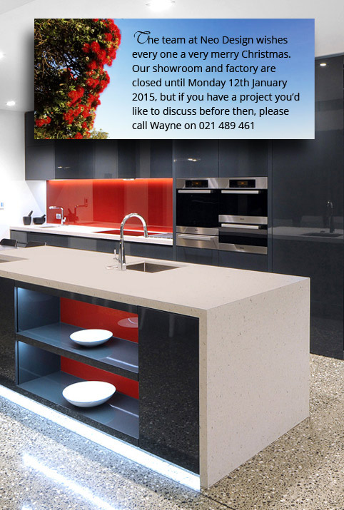 Neo Design Custom Kitchen Auckland Xmas Wishes