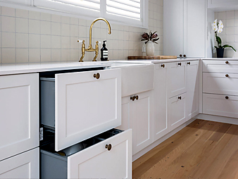 custom auckland classic white shaker traditional kitchen