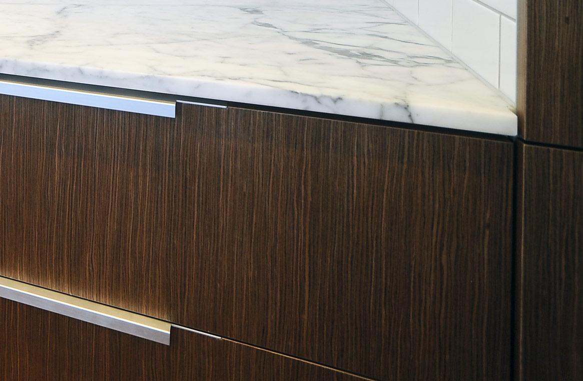Timber tones Murrays Bay kitchen | Neo Design