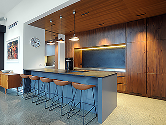 Modern Ponsonby kitchen big on timber