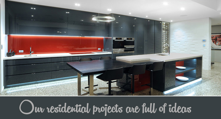 Designer kitchen bathroom and interiors projects neo design auckland Kitchen design shops auckland
