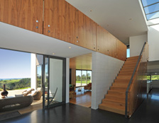 Neo Design award-winning cabinetmakers custom-made timber staircase Auckland