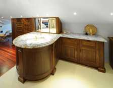 Neo Design award-winning cabinetmakers - solid timber custom cabinetry Auckland