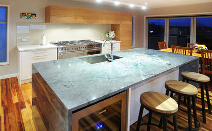 Material Magic in Murrays Bay Kitchen